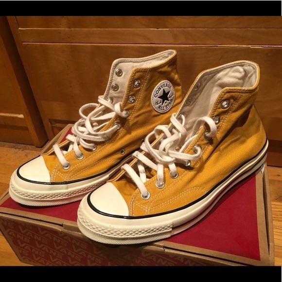 Converse Chuck 70 Sunflower Honey Yellow Shoes